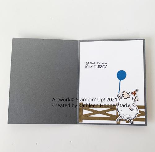 Birthday sheep-inside